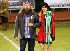Duck Dynasty's Sadie & John Luke Robertson Charm in High School Homecoming Court: See the Pics! | E! Online Mobile