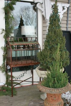 Vintage Hand forged Copper and Brass Terrarium on by BonVivantHOME, $650.00