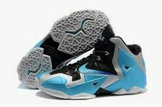best website a49ca 9f540 Nike Lebron XI 11 Lebron James Chaussures 2013 Armory Slate-Gamma Bleu For  Wholesale
