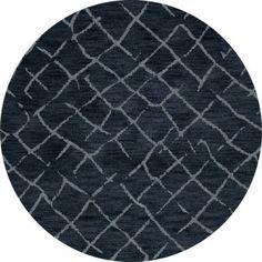 Dalyn Rug Co. Bella Blue Area Rug Rug Size: Round 12'
