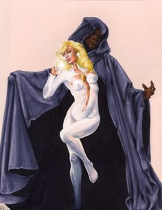 Cloak and Dagger by *AllisonSohn on deviantART  Auction your comics on http://www.comicbazaar.co.uk