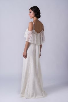 Boho Chic Clothing Boutiques San Francisco Joni Boho lace wedding dress