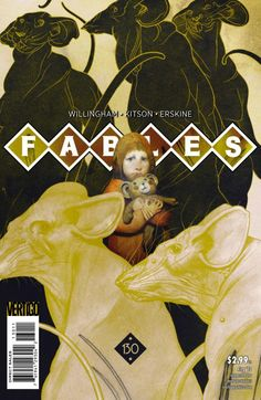 Fables n°130. Cover by Joao Ruas.