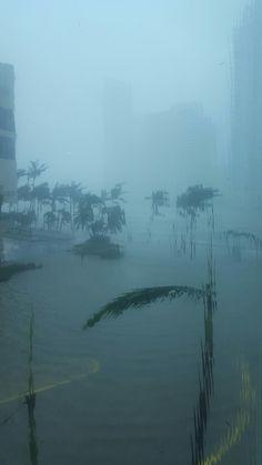Hurricane Irma Live Miami Downtown