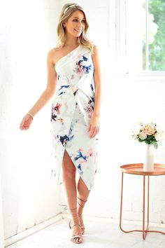 Marvellous white Watercolor Outfit