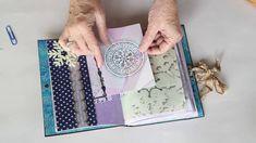 Snow Queen / Frozen themed junk journals