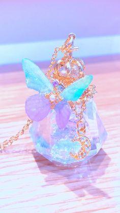 Kawaii Jewelry, Kawaii Accessories, Cute Jewelry, Crystal Aesthetic, Purple Aesthetic, Aesthetic Iphone Wallpaper, Aesthetic Wallpapers, Galaxy Wallpaper, Wallpaper Backgrounds