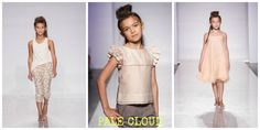 PALE CLOUD spring runway looks at Petite Parade.