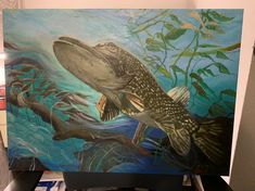 Okejomalba Fish, Pets, Painting, Animals, Animales, Animaux, Pisces, Painting Art, Paintings