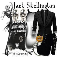 """Jack Skellington"" by leslieakay on Polyvore"