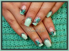 It`s all about nails: Mint Touch