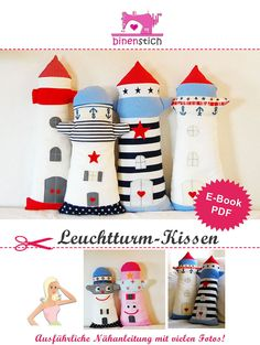 Sewing pattern for lighthouses