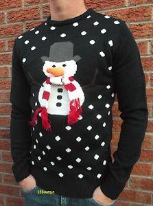 Snowman jumper with scarf | eBay UK | eBay.co.uk