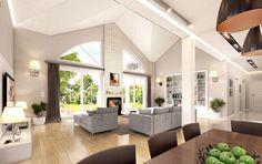 House Outside Design, Small House Interior Design, House Design, House Plans, Villa, Teak, Facade, Ceiling Lights, Modern