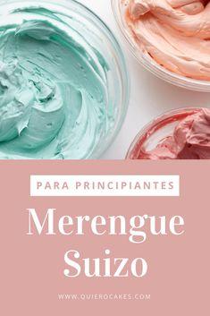 Merengue suizo para principiantes Cuban Recipes, Desert Recipes, Merengue Cake, Cake Decorating Icing, Chantilly Cream, Meringue Cookies, Homemade Cake Recipes, Pastry Cake, Drip Cakes