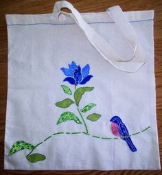 Lynne's Corner Creations: APPLIQUE BIRD