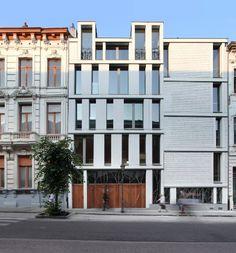 Lens°Ass Architecten; basisschool GO! in Sint-Gillis.