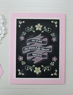 Dawn Woleslagle for Wplus9 featuring Written On Ribbon and Embroidered Bouquet stamps.