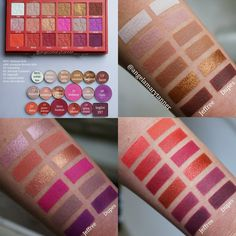 JEFFREE STAR 'BLOOD SUGAR' PALETTE DUPES