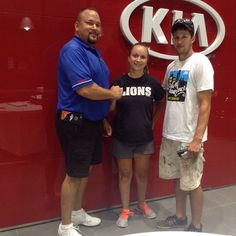 Congratulations to David and Shantele on purchasing your new 2015 Chrysler 200!! Lawrence Kia appreciates your business!! Please refer me Chris Schmidt to your Family and Friends!!