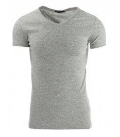 Šedé pánske tričko