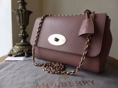 Mulberry Lily Medium in Dark Blush Glossy Goat  > http://www.npnbags.co.uk/naughtipidginsnestshop/prod_4055417-Mulberry-Lily-Medium-in-Dark-Blush-Glossy-Goat-with-Soft-Gold-Hardware-New.html