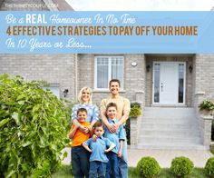 This is awesome. Be a true home-owner in 7-years with this no-frills, easy, effective, just-do-it plan! Get your mortgage paid off with these great tips.