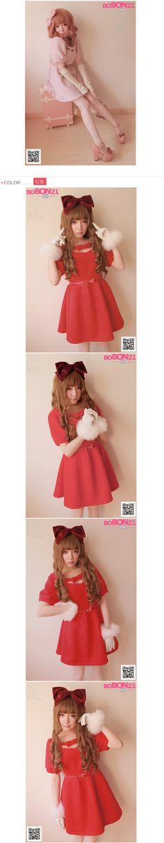 Aliexpress.com : Buy Sweet lolita dress bobon21 princess royal pink gentlewoman Autumn and winter bow thick woolen one piece dress with belt d0741 from Reliable belted overcoat suppliers on Loliloli shop for Lolita Princess.