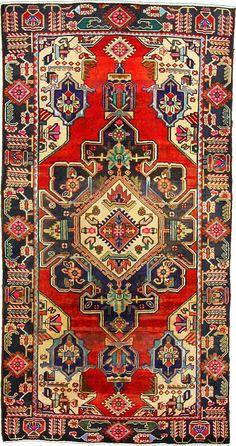 5 0 x 9 8 Red Bakhtiar Persian Rugs