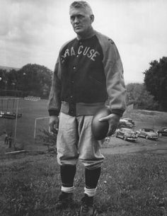 Legendary SU Football Coach Ben Schwartzwalder (Courtesy of archives.syr.edu)