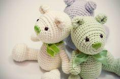 Amigurumi creations by Laura: Little Amigurumi Teddy Bears - New Crochet PDF Pattern