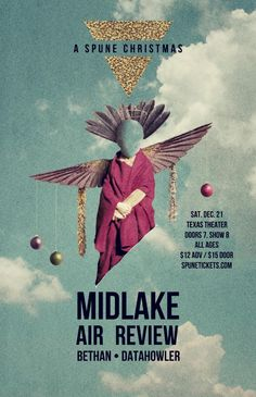 """December 21 @ Texas Theatre - Spune presents """"A Spune Christmas"""" featuring Midlake   Air Review   Bethan   Datahowler"""