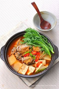 Living Room Kitchen, Korean Food, Japanese Food, Soups And Stews, Allrecipes, Thai Red Curry, Deserts, Food And Drink, Cooking