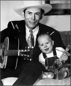 Hank with Hank Jr.