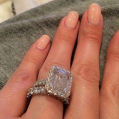 #bling #ring #nails