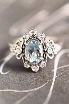 Cool 82 Cushion Cut Vintage Engagement Ring https://bitecloth.com/2017/07/12/82-cushion-cut-vintage-engagement-ring/