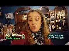 GABY VELARDI con boletas del Café hablando de política