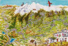 Where is Mt. Mulhacen on map - Sierra Nevada, Spain