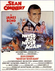 Never Say Never Again(#13 1/2) Sean Connery as James Bond