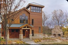 Timber Frame, Front  Exterior, Home