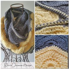 Winter Moons Infinity Scarf