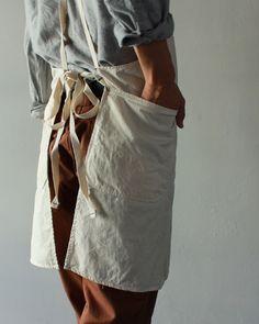[Engineered Garments] Apron - Drill Twill - takanna.com #gift #valentine