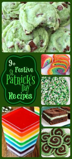 Holiday treats and all things festive are so much fun - these recipes will be sure to make this your tastiest St. Patrick's Day yet! #stpatricksday #green #desserts #food #tasty #yummy