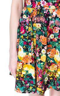 ZARA: Vestido estampado flores   De Zapatos a Sombreros