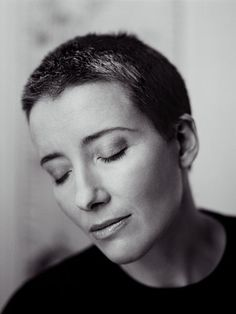 Emma Thompson. I don't care that her eyes are closed. Still belongs here.