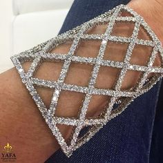 Delicate and sensual Boucheron diamond cuff is our favorite this Sunday! Contact us for more information, contact details in bio... #YafaSignedJewels #VintageSignedJewels #SignedJewels #Cartier #Boucheron #Diamond #Cuff #antiquejewelry #vintagejewelry #estatejewelry #investment #forsale #newyork #nyc