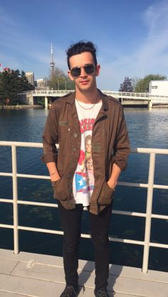 matty | 1975fans: Matty in Toronto on May 20, 2016 @ TD...