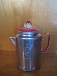 Vintage  Toy Tin Teapot with Little Bo Peep~~