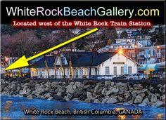The White Rock Beach Gallery – Featuring the work of ARTographer Ric Wallace Train Station, British Columbia, Canada, Rock, Gallery, Beach, The Beach, Skirt, Locks