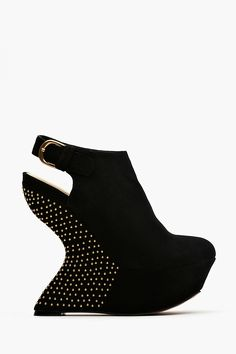 10d62623460 Leila Wedge Boot. I wish i could wear shoes like this and they wouldn